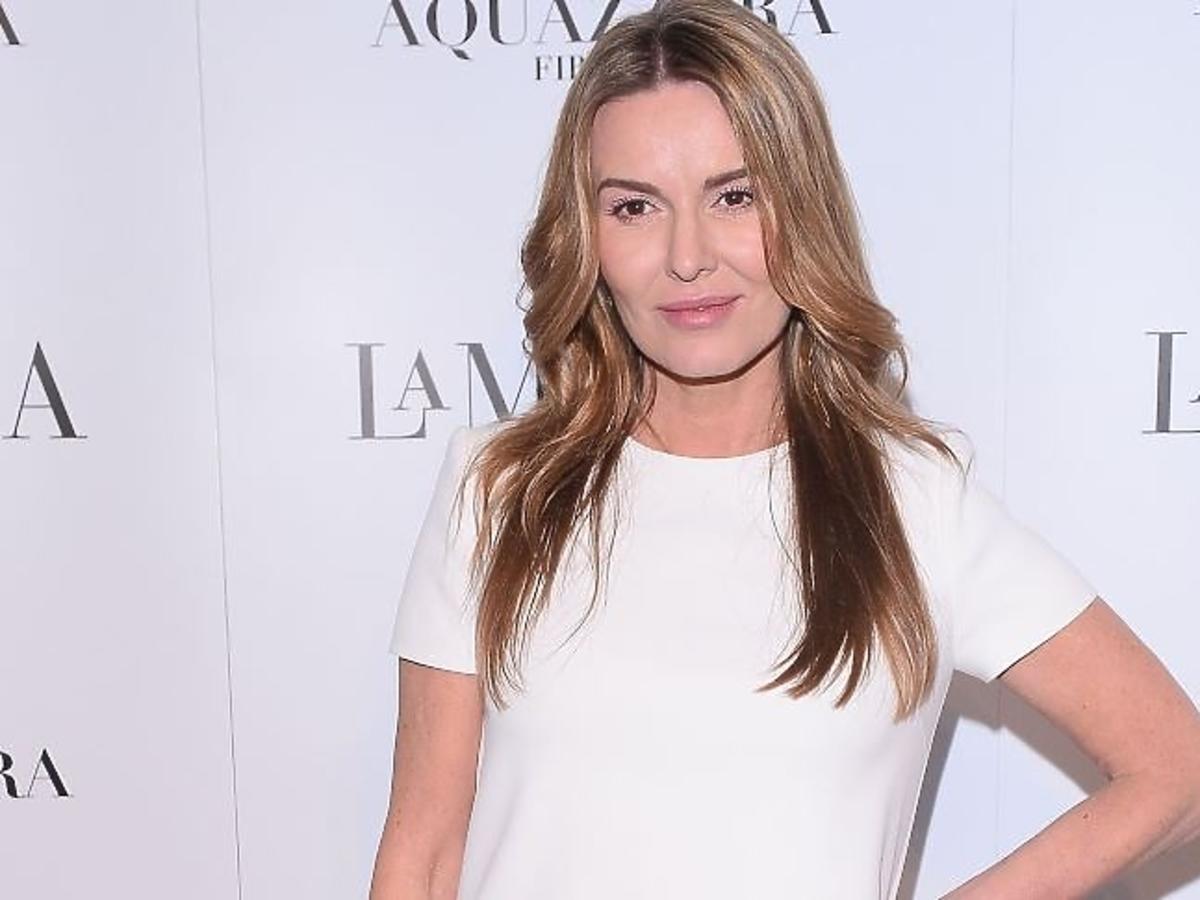 Hanna Lis w białej sukience