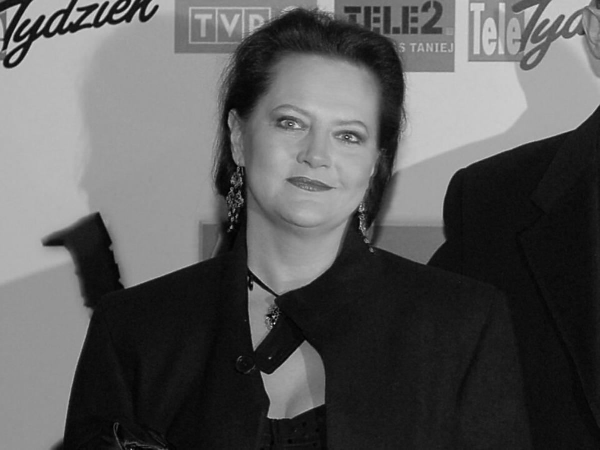 Hanna Polk - czarno białe zdjęcie aktorki