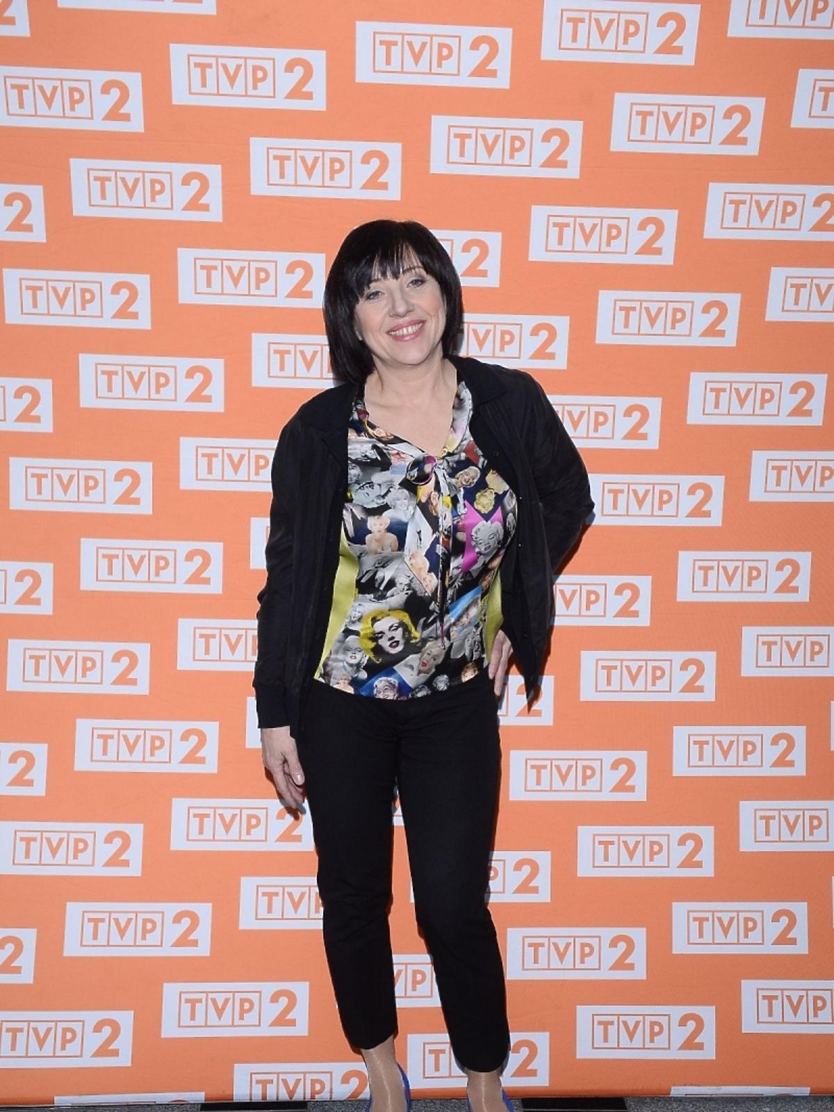 Hanna Śleszyńska na konferencji
