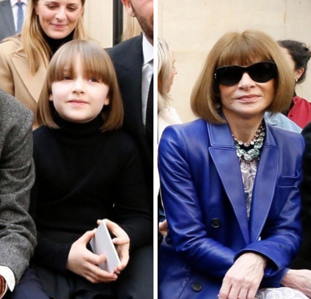 Harper Beckham, Anna Wintour