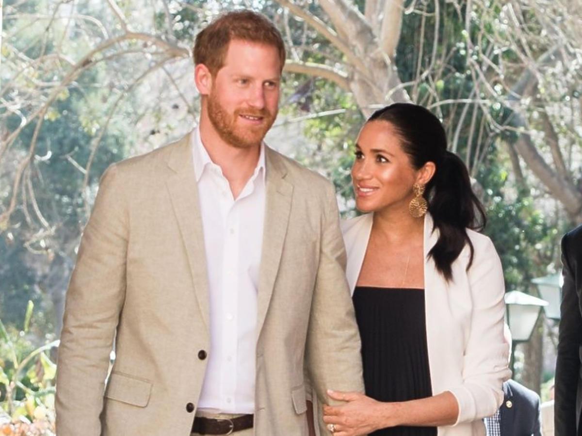 Harry i Meghan podczas zagranicznej podróży