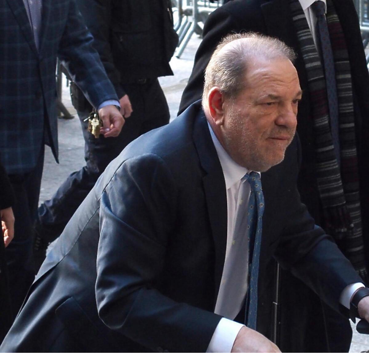 Harvey Weinstein w sądzie