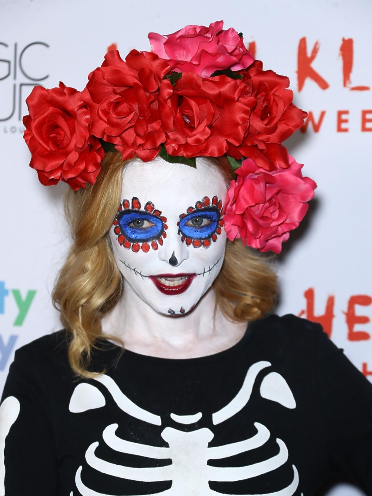 Heather Graham na imprezie halloweenowej Heidi Klum