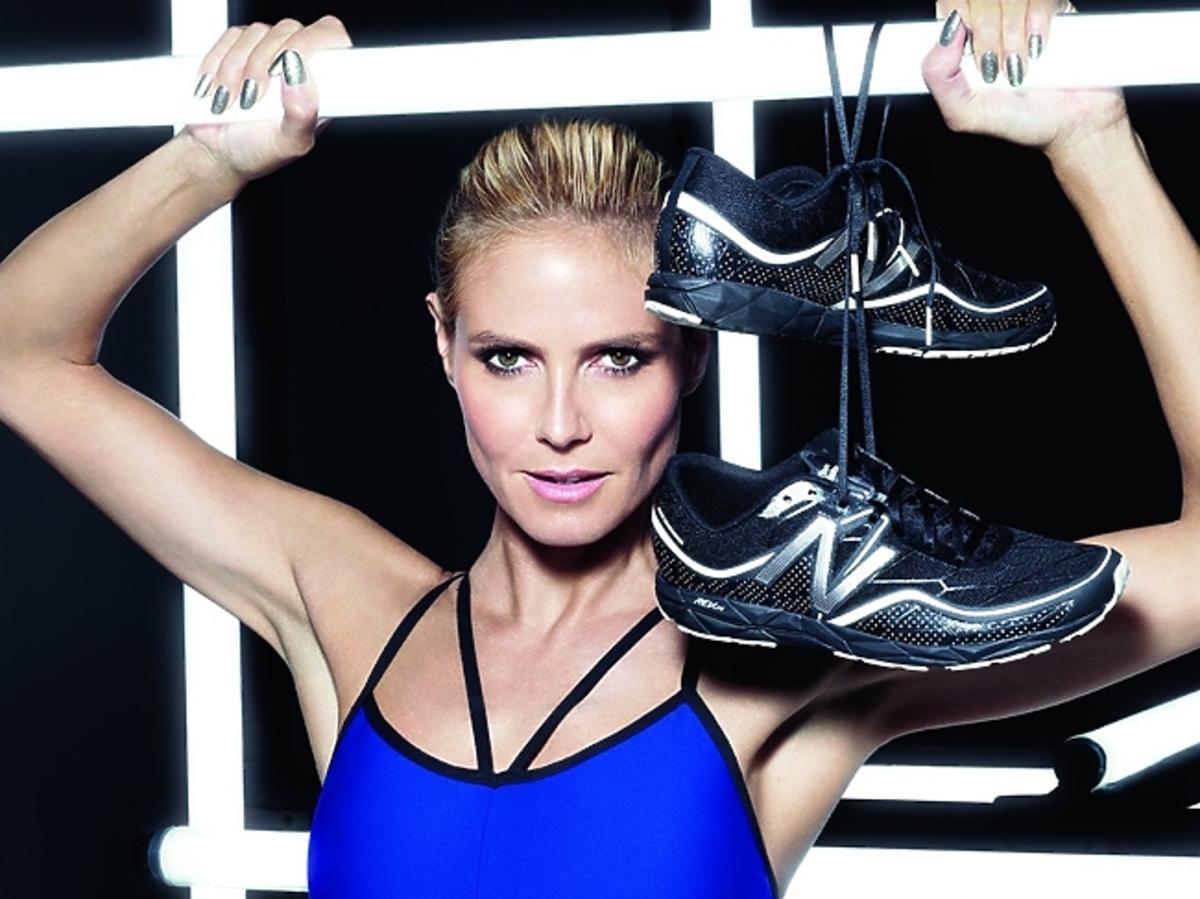 Heidi Klum dla New Balance