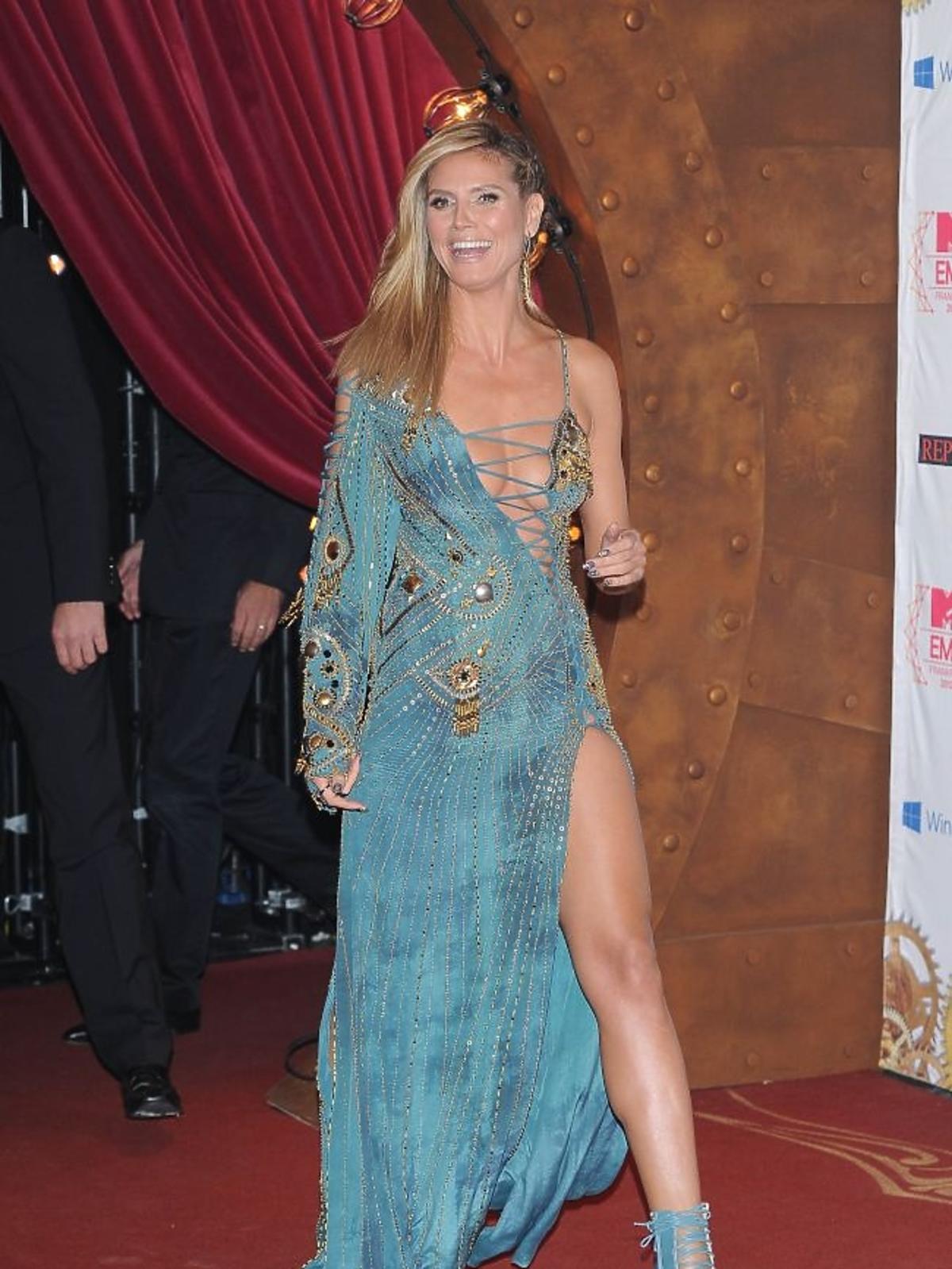 Heidi Klum na gali MTV EMA 2012