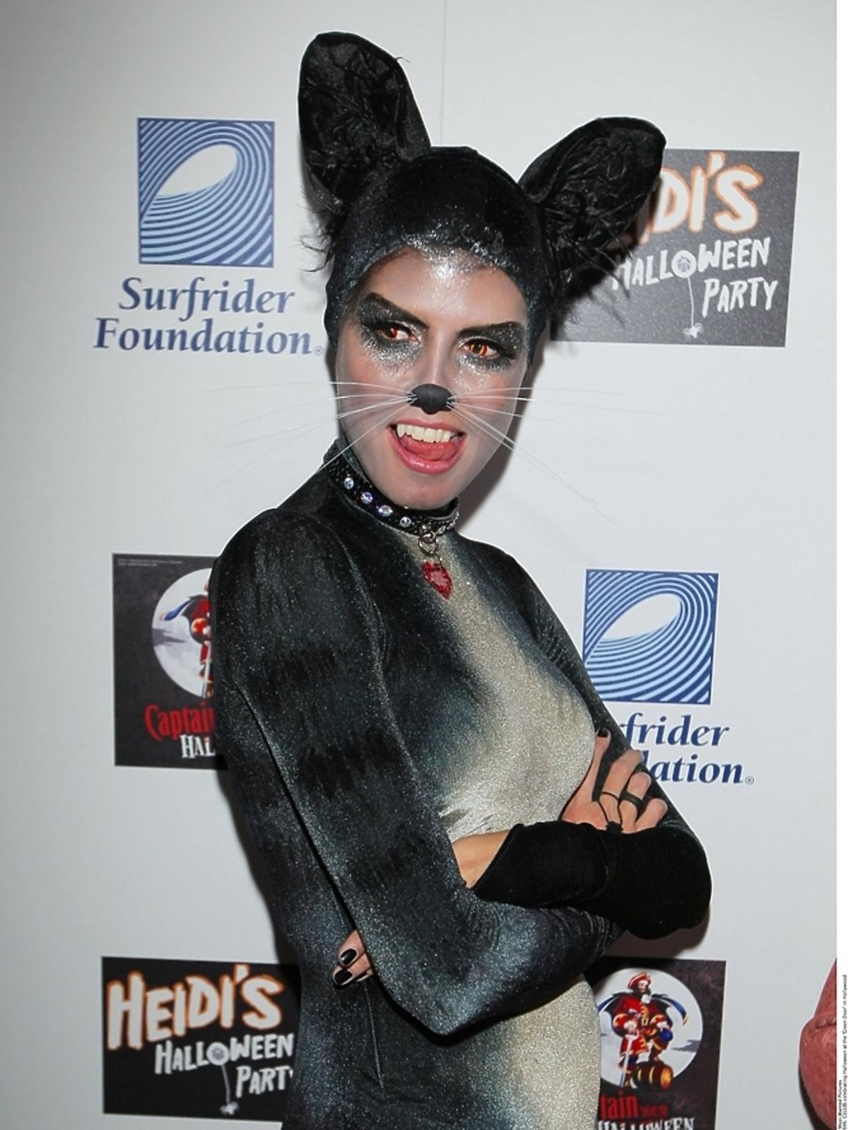 Heidi Klum na Halloween 2007