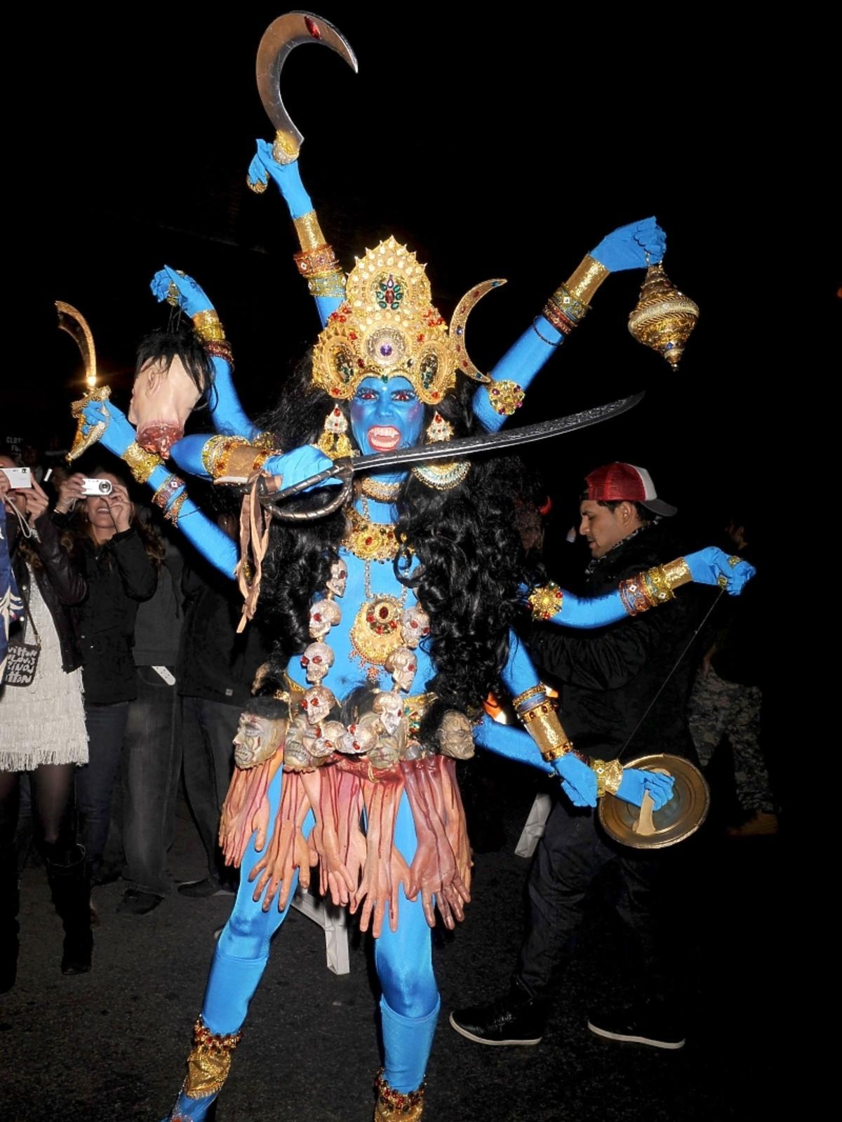 Heidi Klum na Halloween 2008