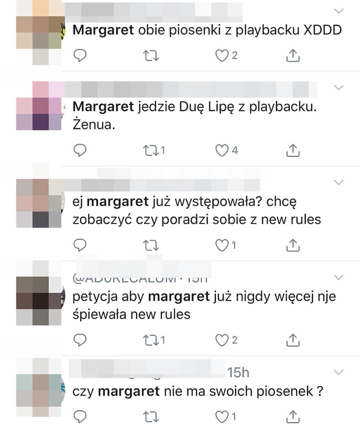 Hejt na Margaret
