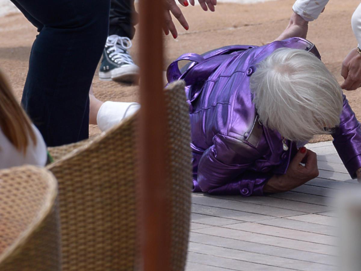 Helen Mirren upadła podczas festiwalu w Cannes