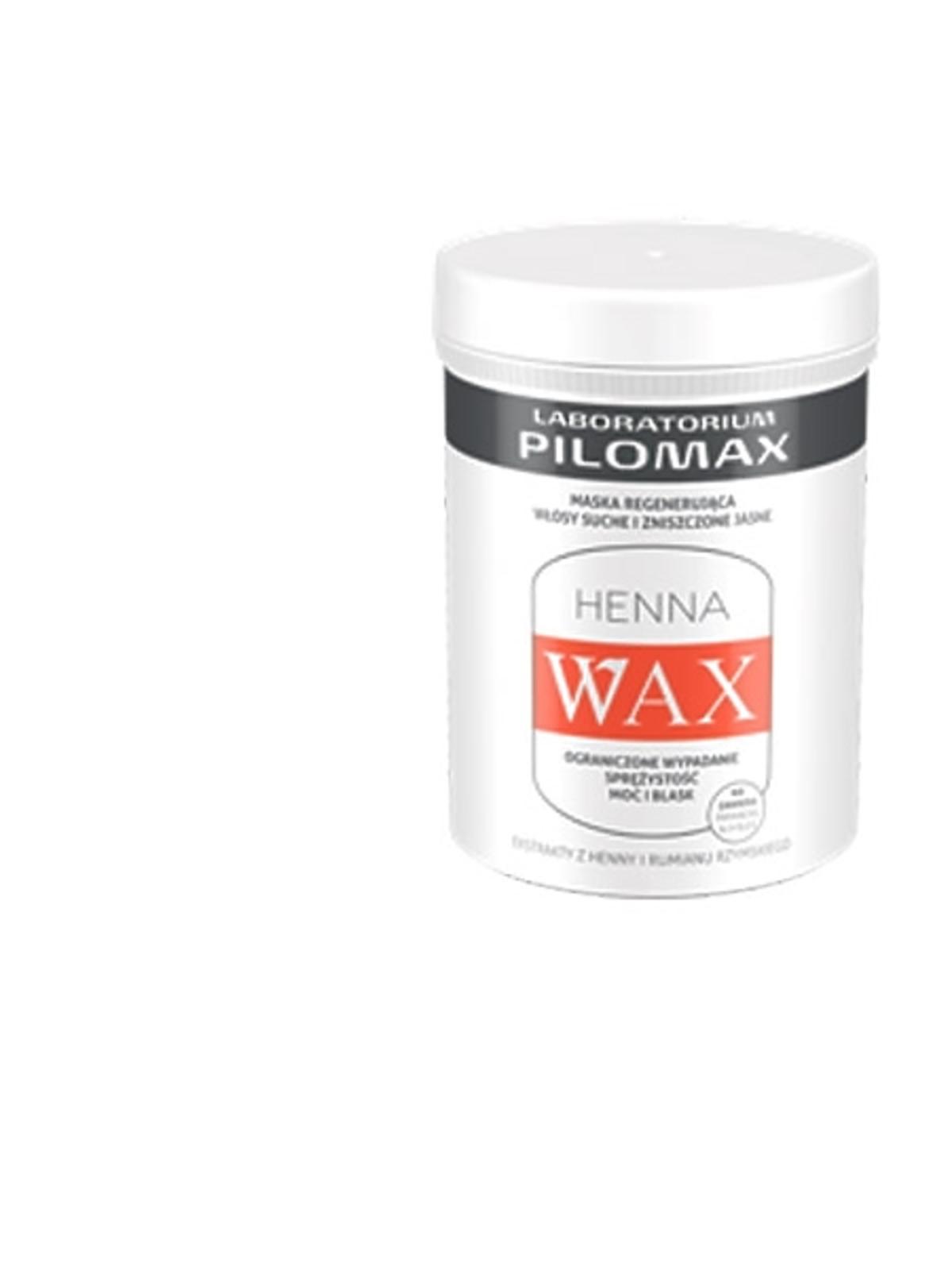 Henna Wax, maska odżywcza do włosów jasnych, cena