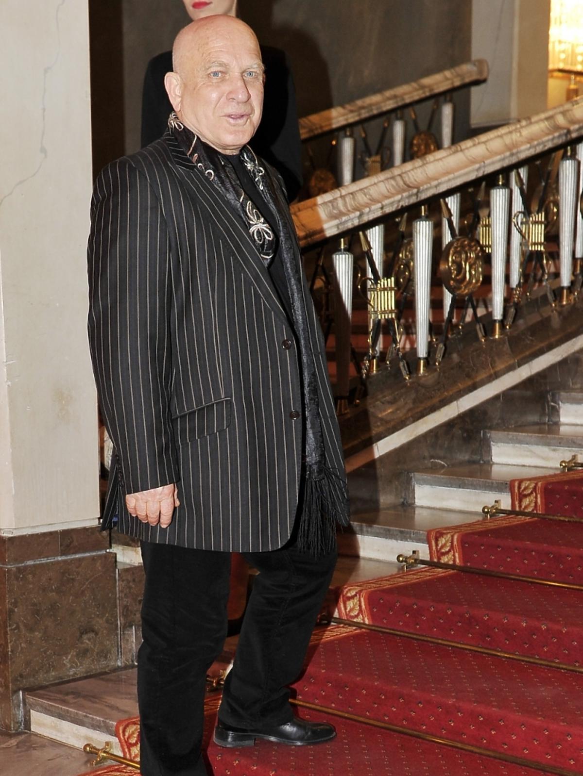 Henryk Talar na jubileuszowej gali 90-lecia Polskiego Radia