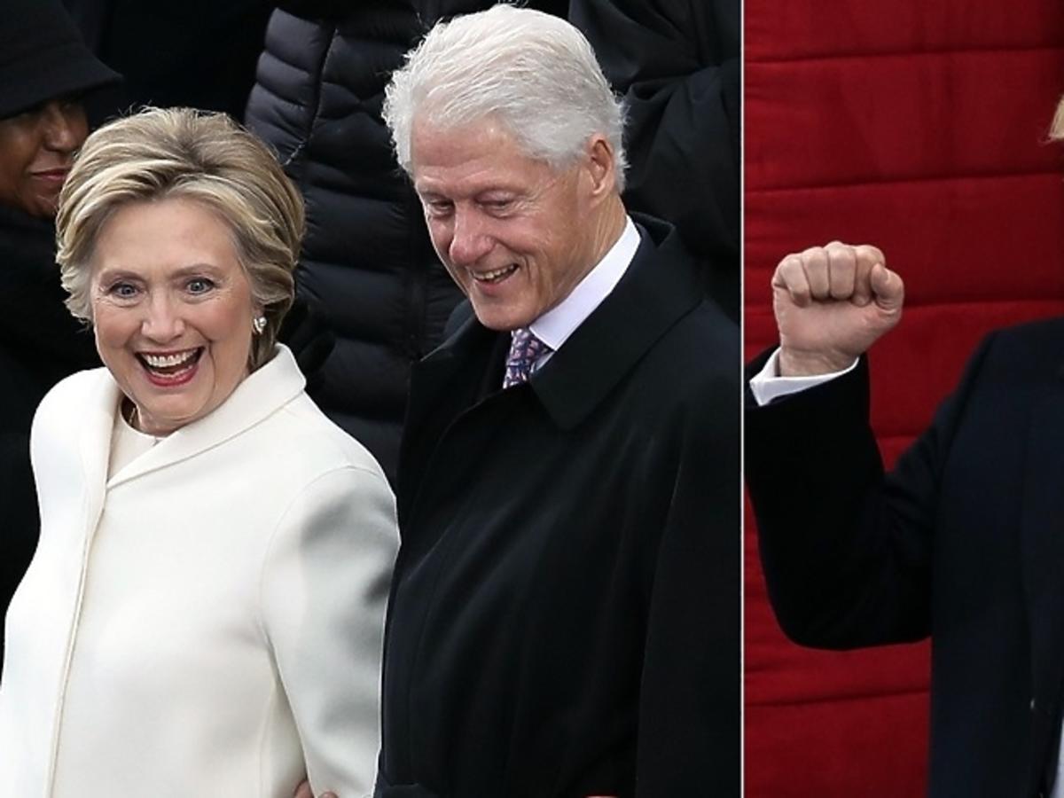 Hillary Clinton, Bill Clinton, Donald Trump