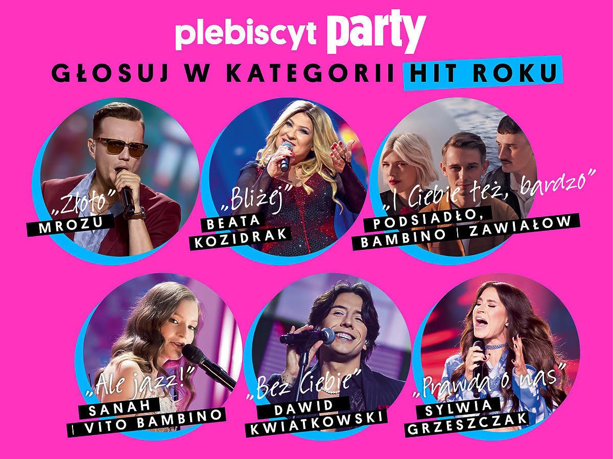 Hit Roku plebiscyt Party 2021