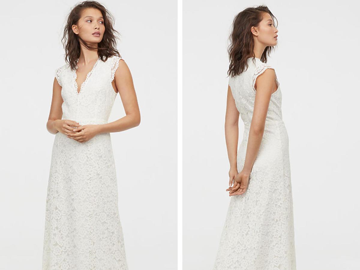 H&M suknia koronkowa 699,99 zł