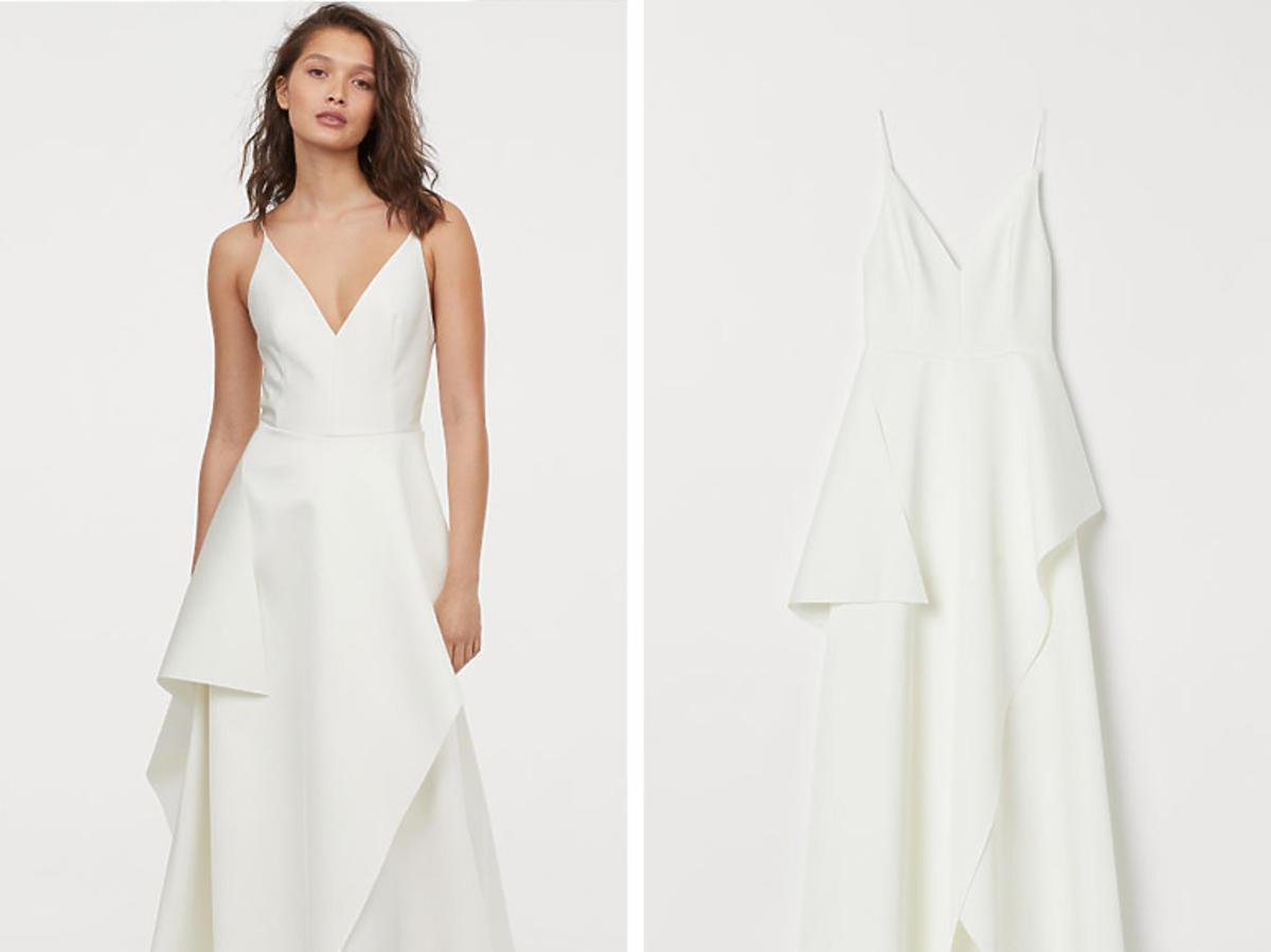 H&M suknia satynowa 999,99 zł