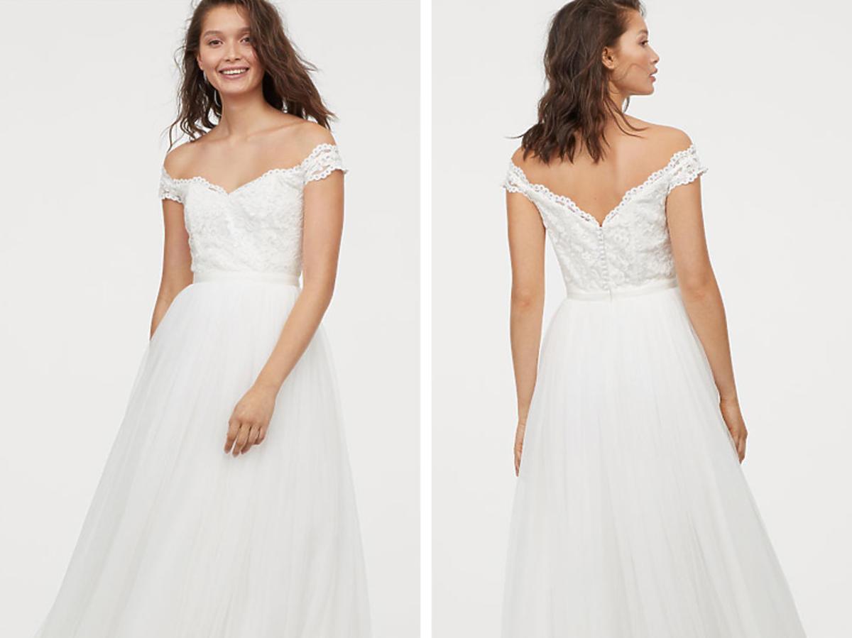 H&M suknia tiulowa 799,99 zł