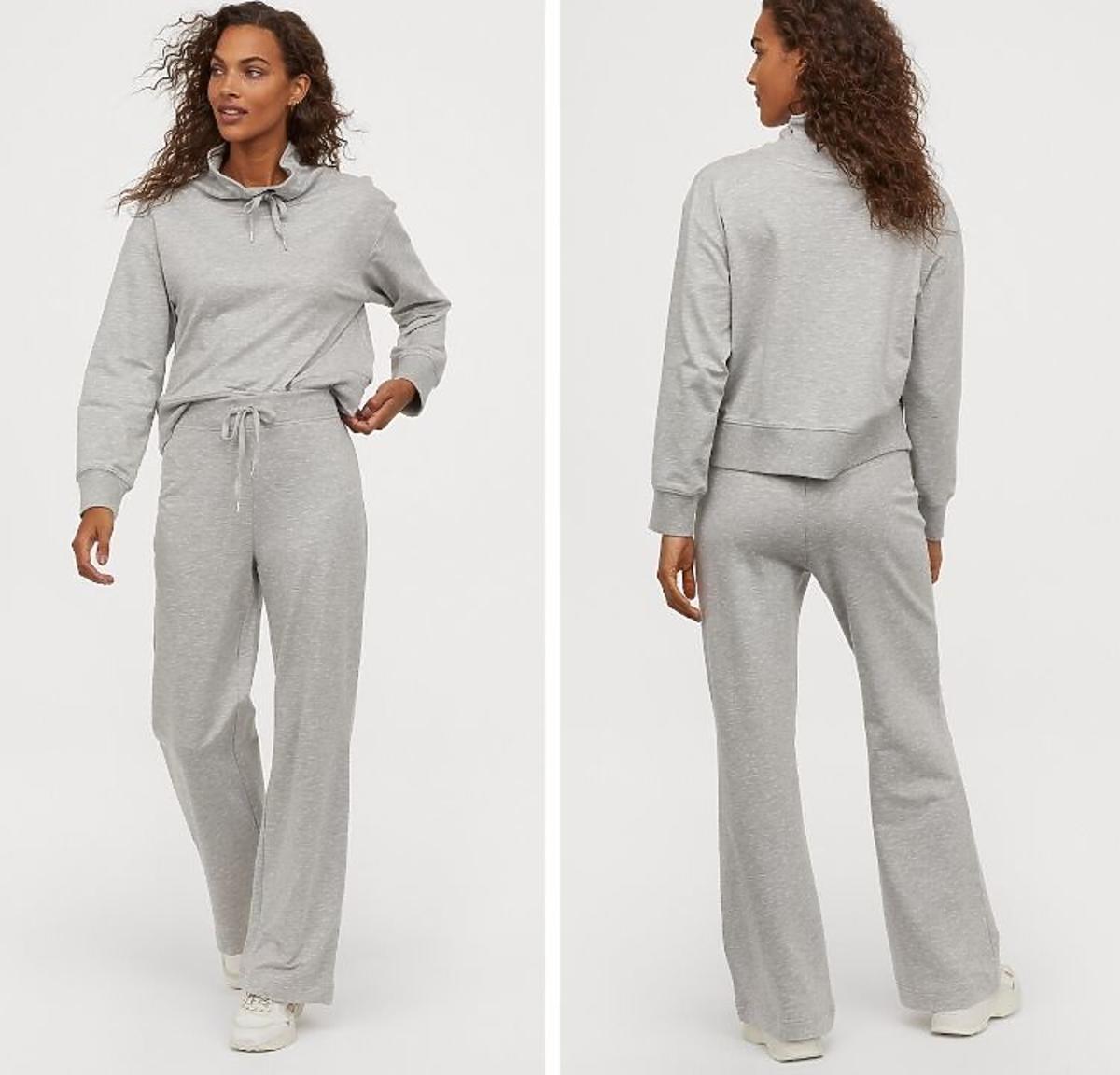 H&M szare dresy z wyprzedaży