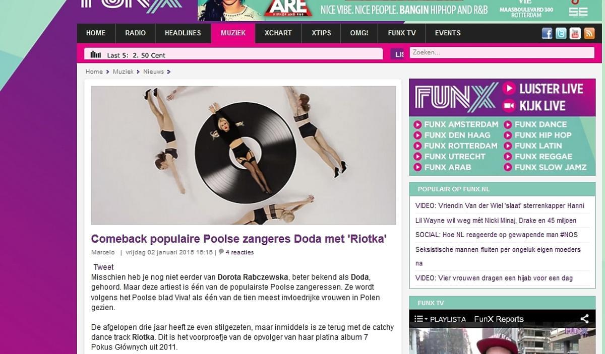 Holenderskie media o Dodzie