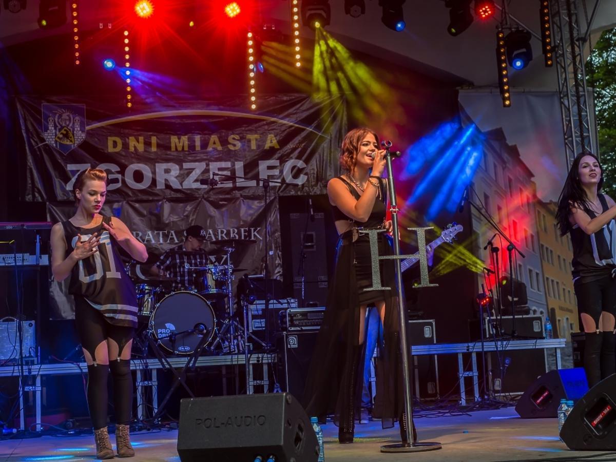 Honorata Skarbek Honey na koncercie w rodzinnym Zgorzelcu