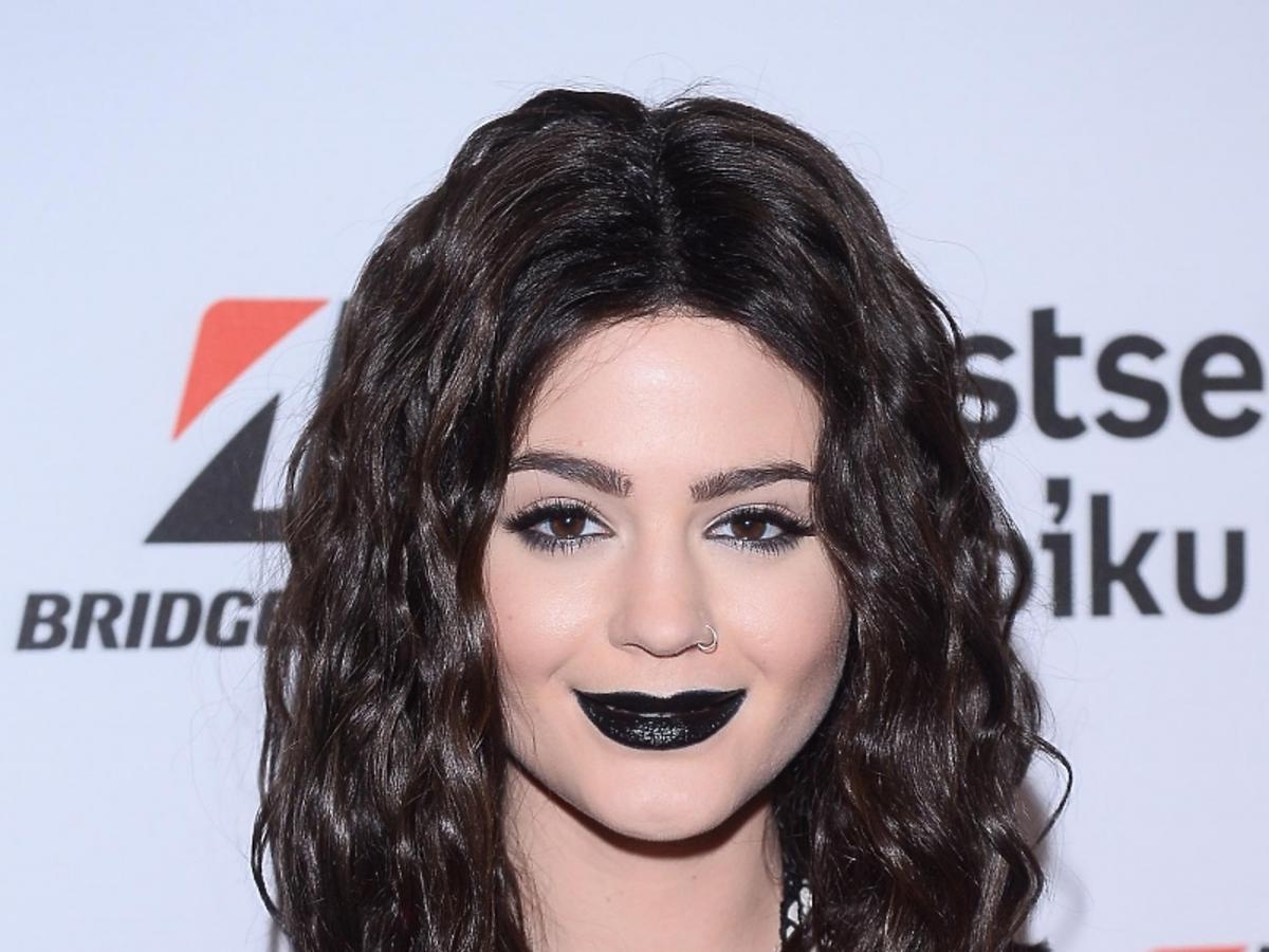 Honorata Skarbek ma czarne usta