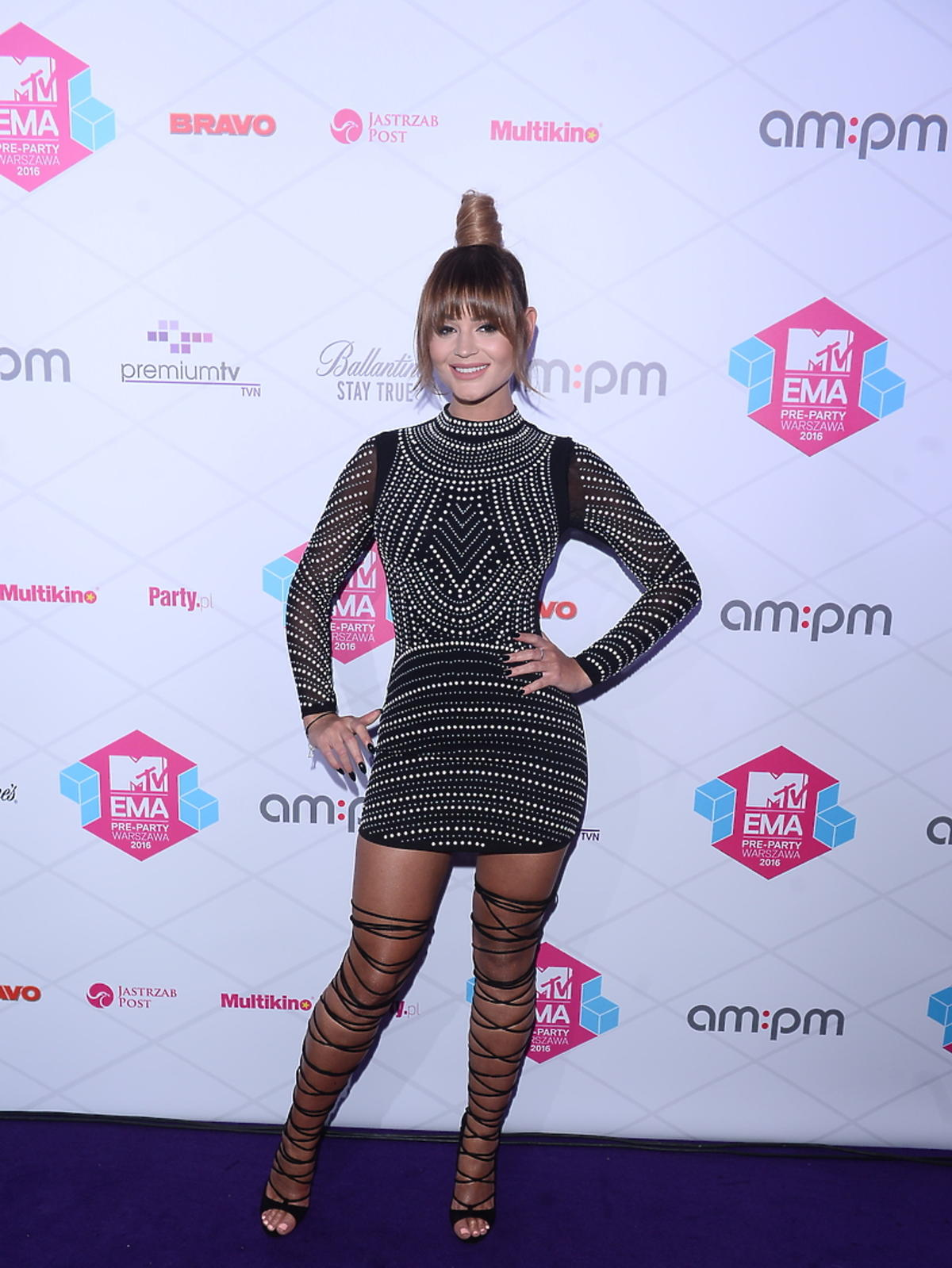 Honorata Skarbek na MTV EMA Pre Party 2016