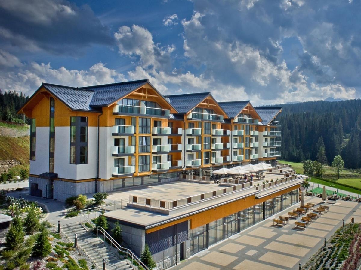 Hotel Bukovina otoczenie