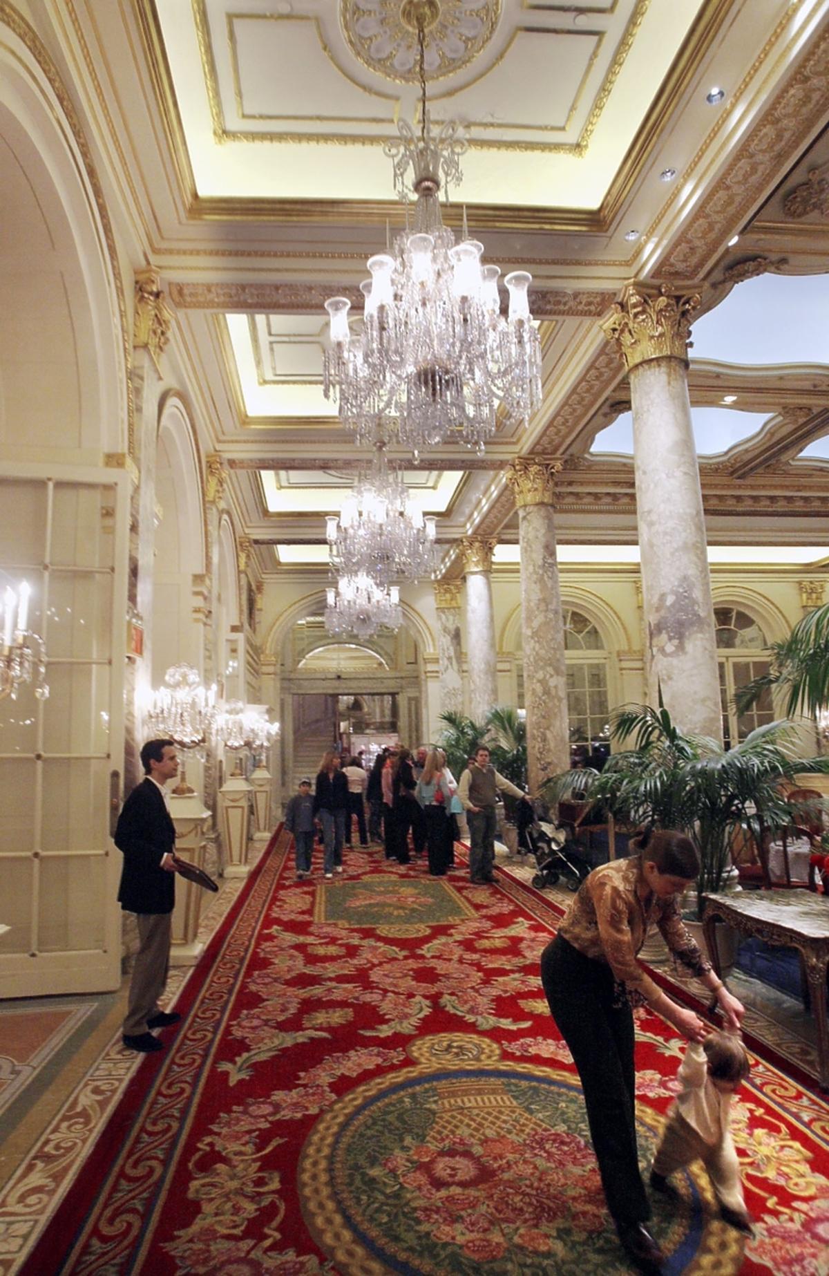 Hotel plaza Nowy Jork, wnętrze