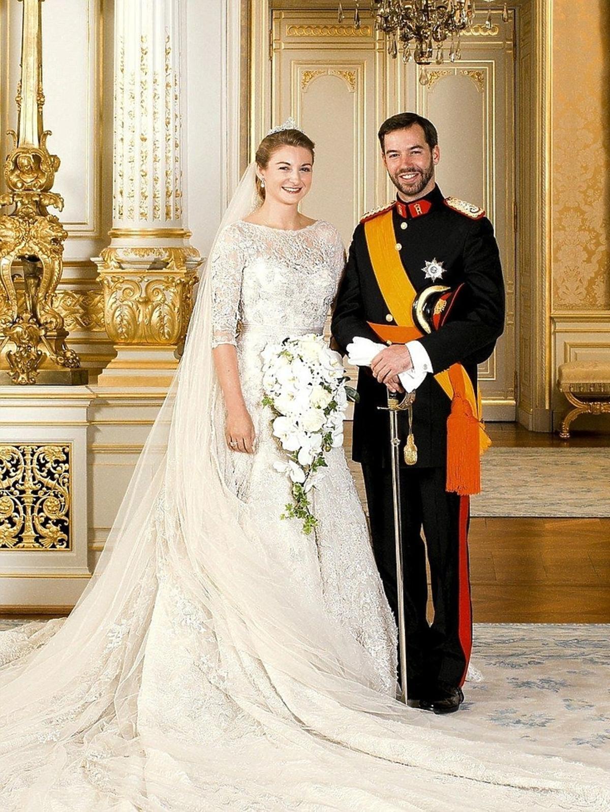 Hrabina Stefania de Lannoy i książę Willhelm