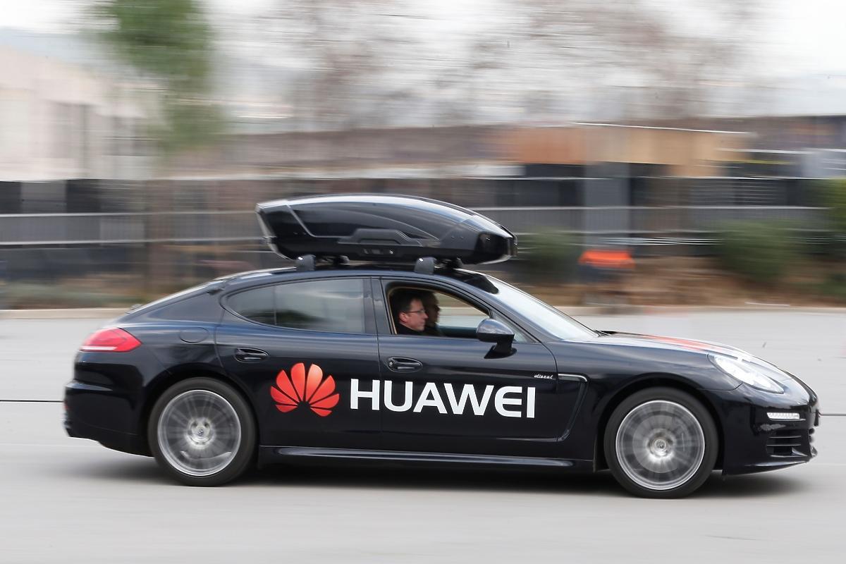 Huawei samochód autonomiczny