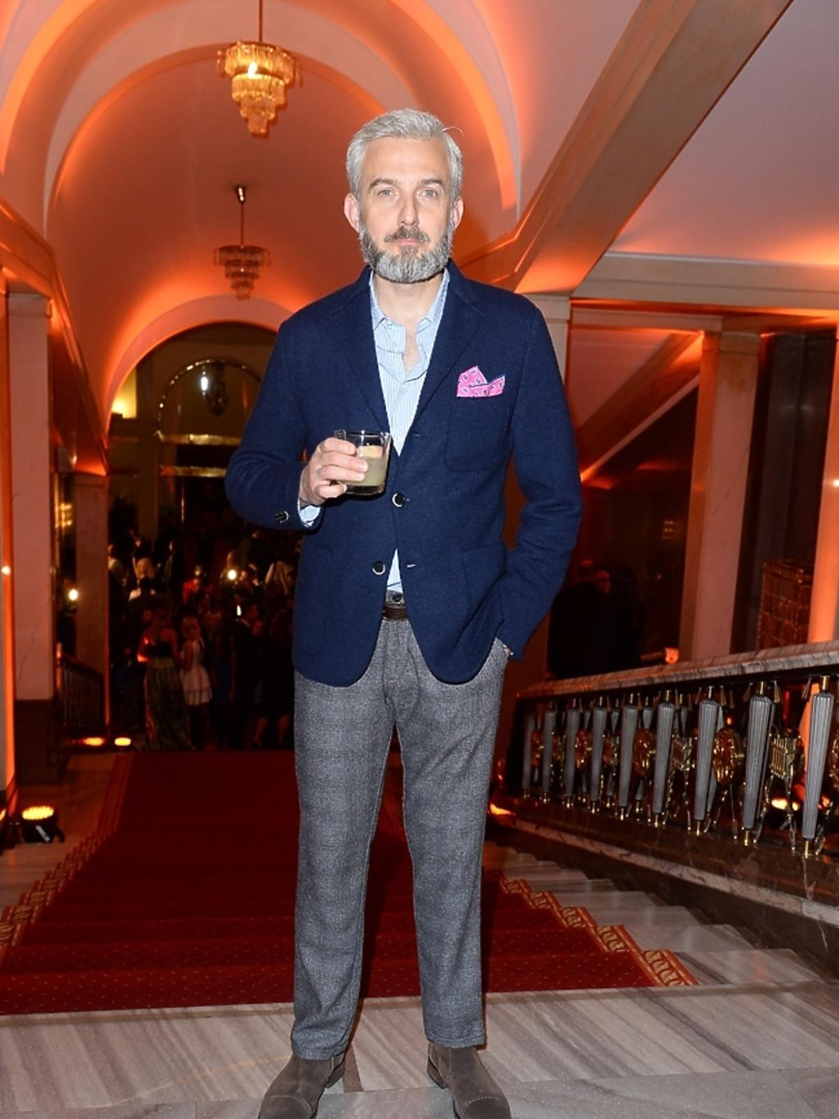Hubert Urbański na imprezie Flesz Fashion Night