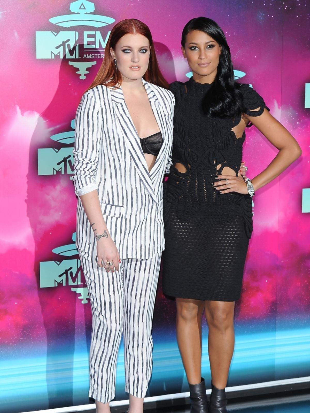 Icona Pop na gali MTV EMA 2013 w Amsterdamie