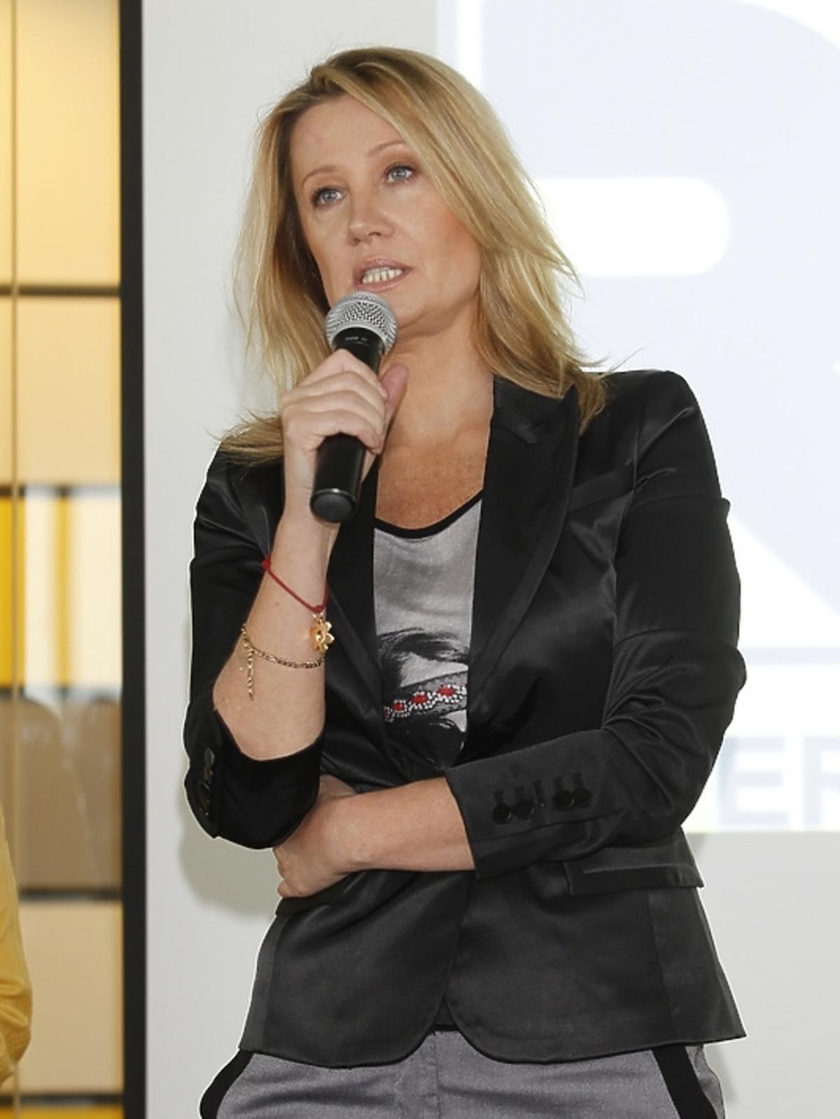 Ida Karpińska podczas spotkania Honeymoon dla Kwiatu Kobiecości
