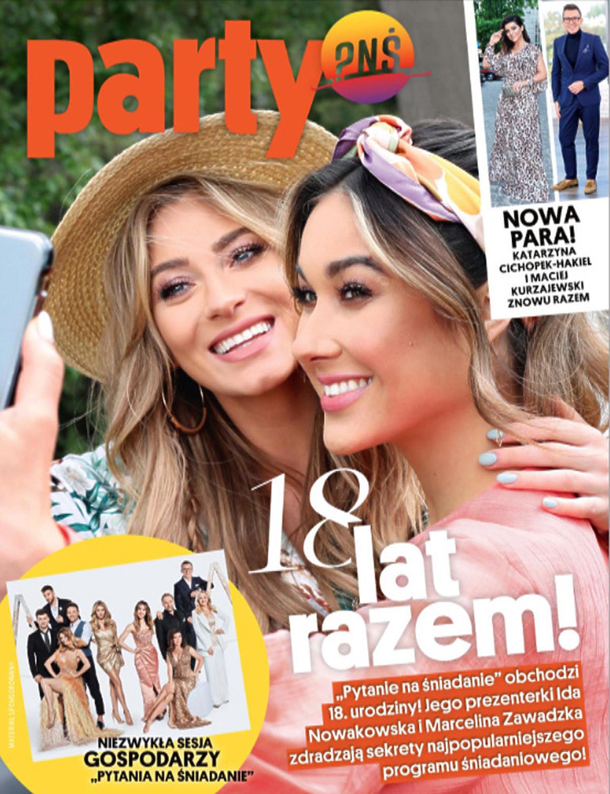 Ida Nowakowska i Marcelina Zawadzka na okładce