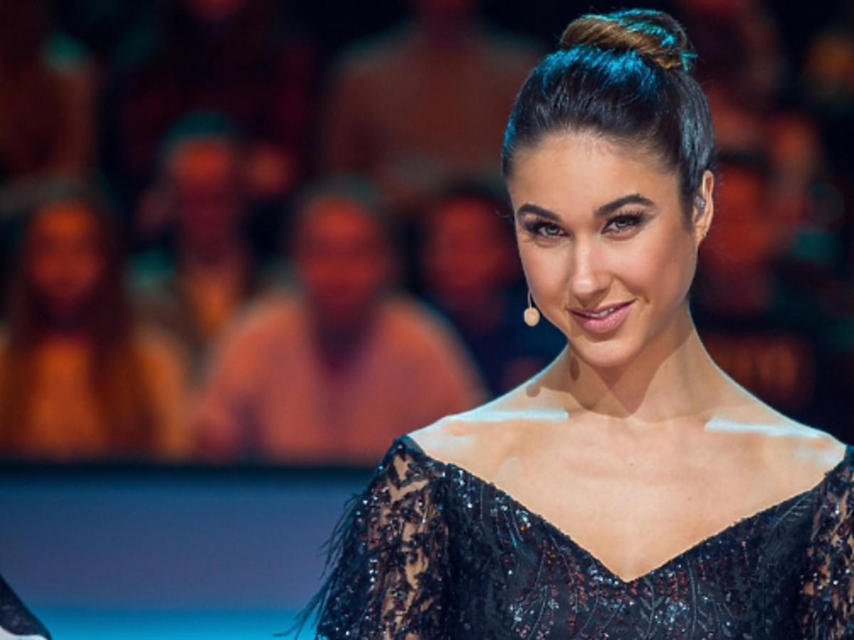 Ida Nowakowska na planie programu Dance, dance, dance
