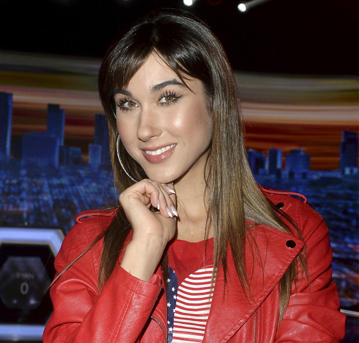 Ida Nowakowska pozuje na ściance