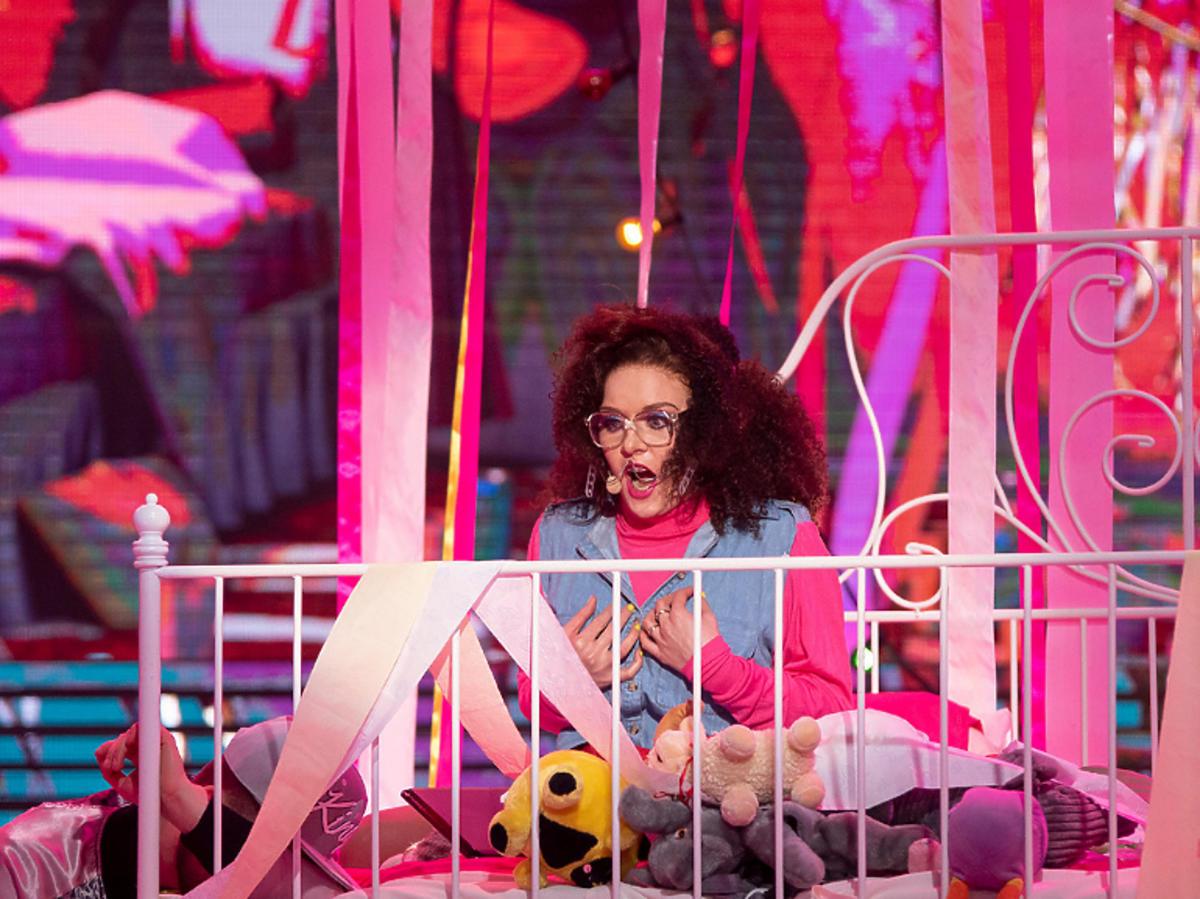 Iga Krefft jako Katy Perry w