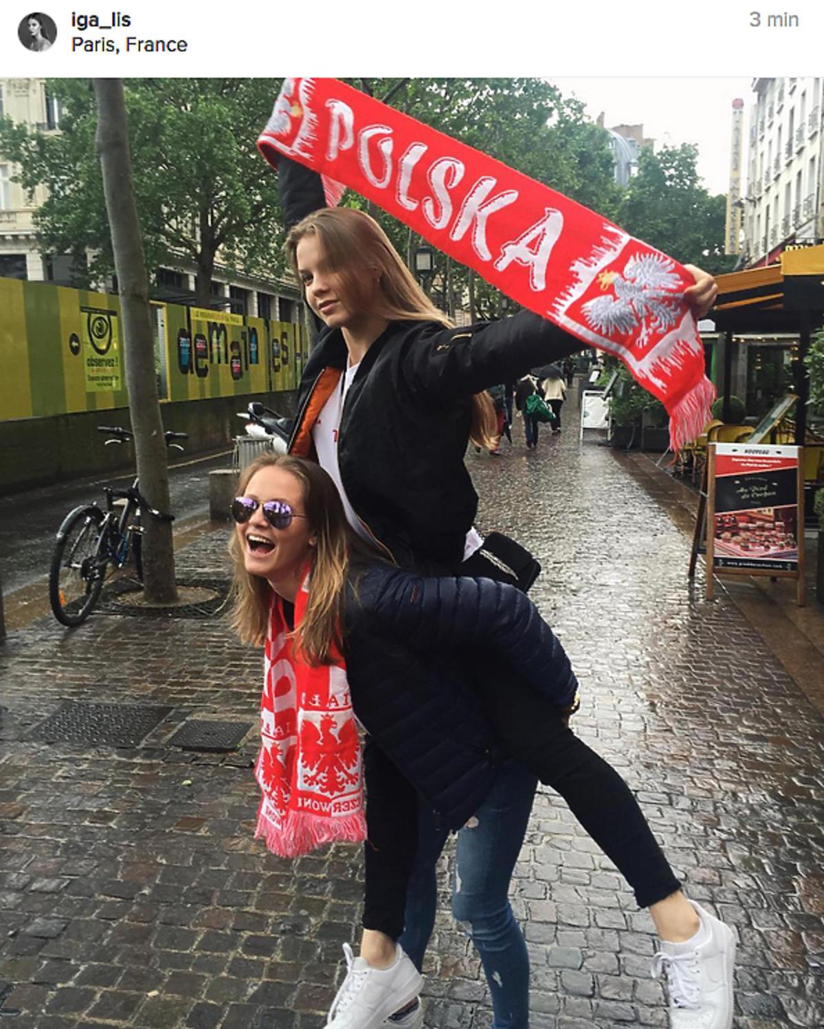 Iga Lis, pola Lis we Francji na Euro 2016