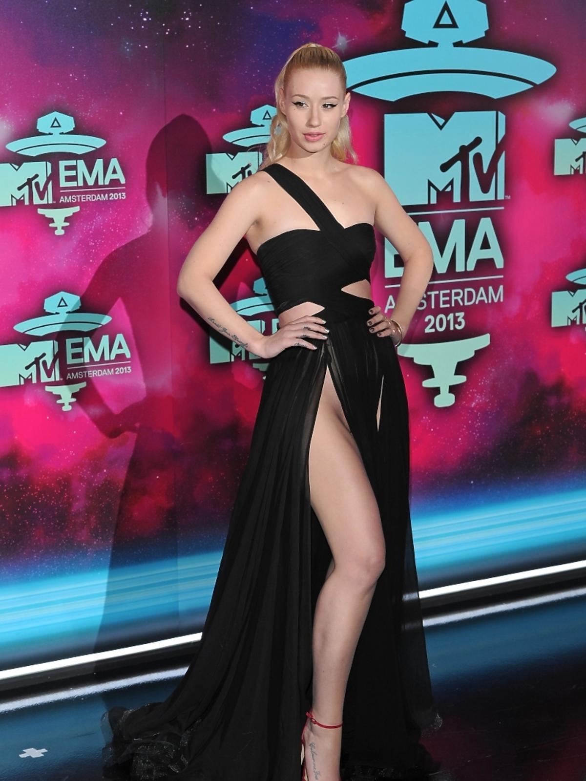 Iggy Azalea na gali MTV EMA 2013 w Amsterdamie