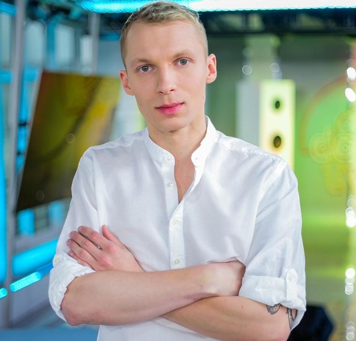 Igor Herbut w białek koszuli