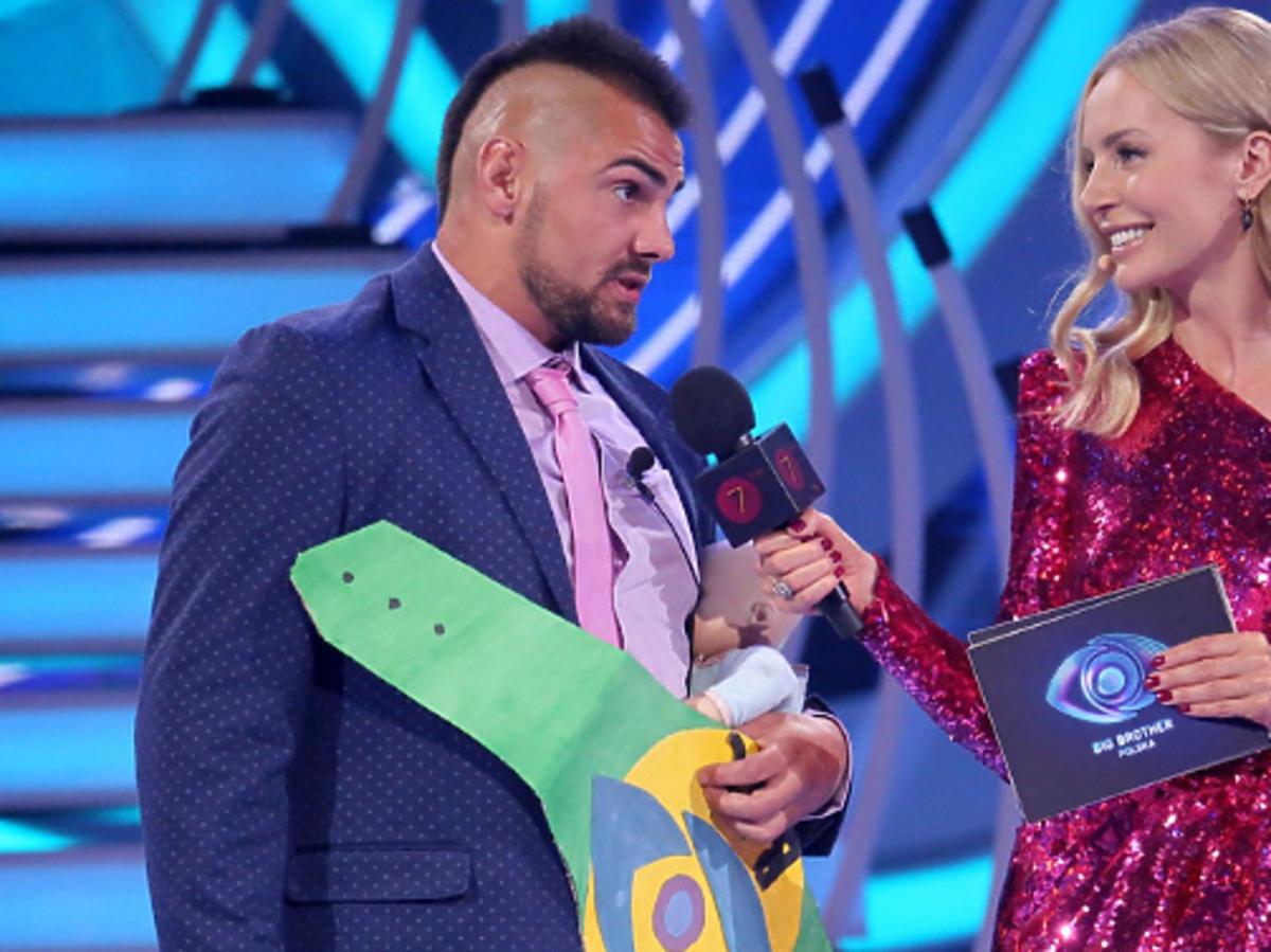 """Igor Jakubowski i Agnieszka Woźniak-Starak w programie """"Big Brother"""""""