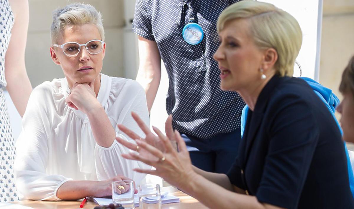 Ilona Felicjańska i Agata Duda połączyły siły i razem pomagają uzależnionej młodzieży