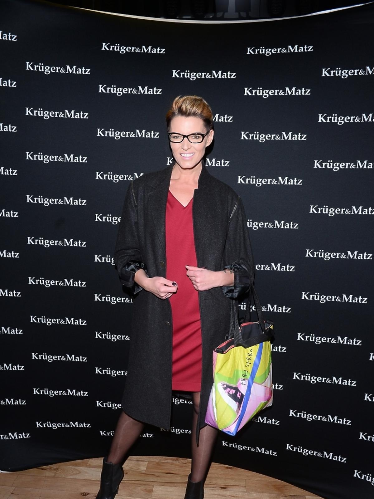 Ilona Felicjańska na imprezie marki Kruger&Matz