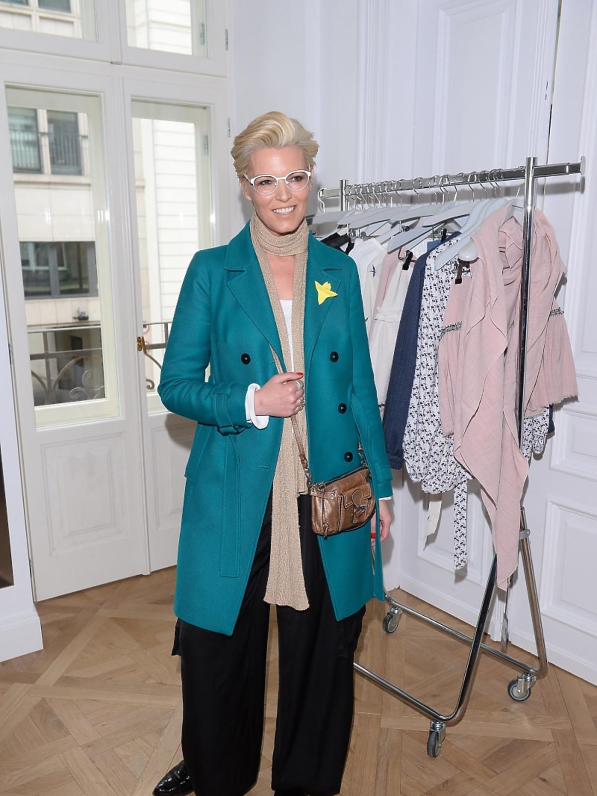 Ilona Felicjańska na otwarciu butiku marki 303 Avenue