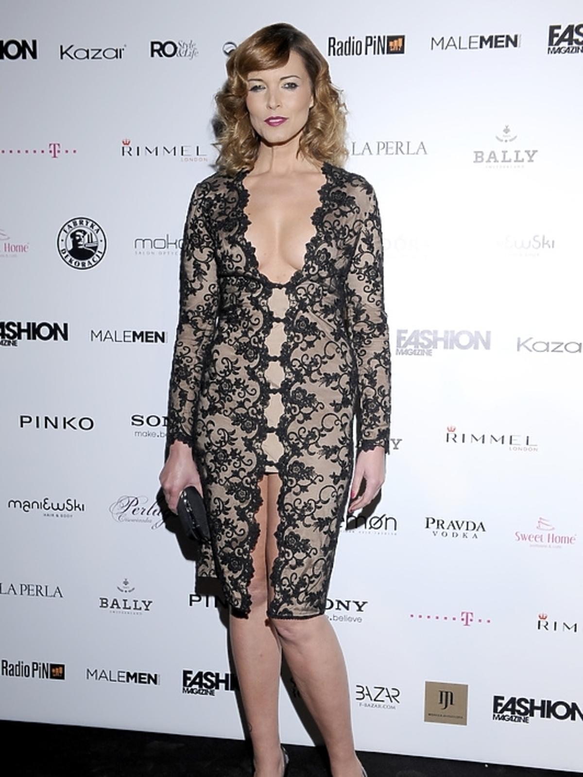 Ilona Felicjańska na rozdaniu nagród Fashion Magazine