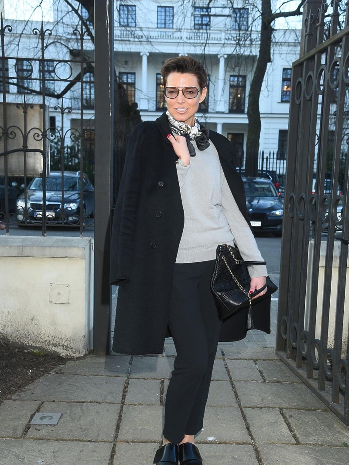 Ilona Felicjańska w okularach