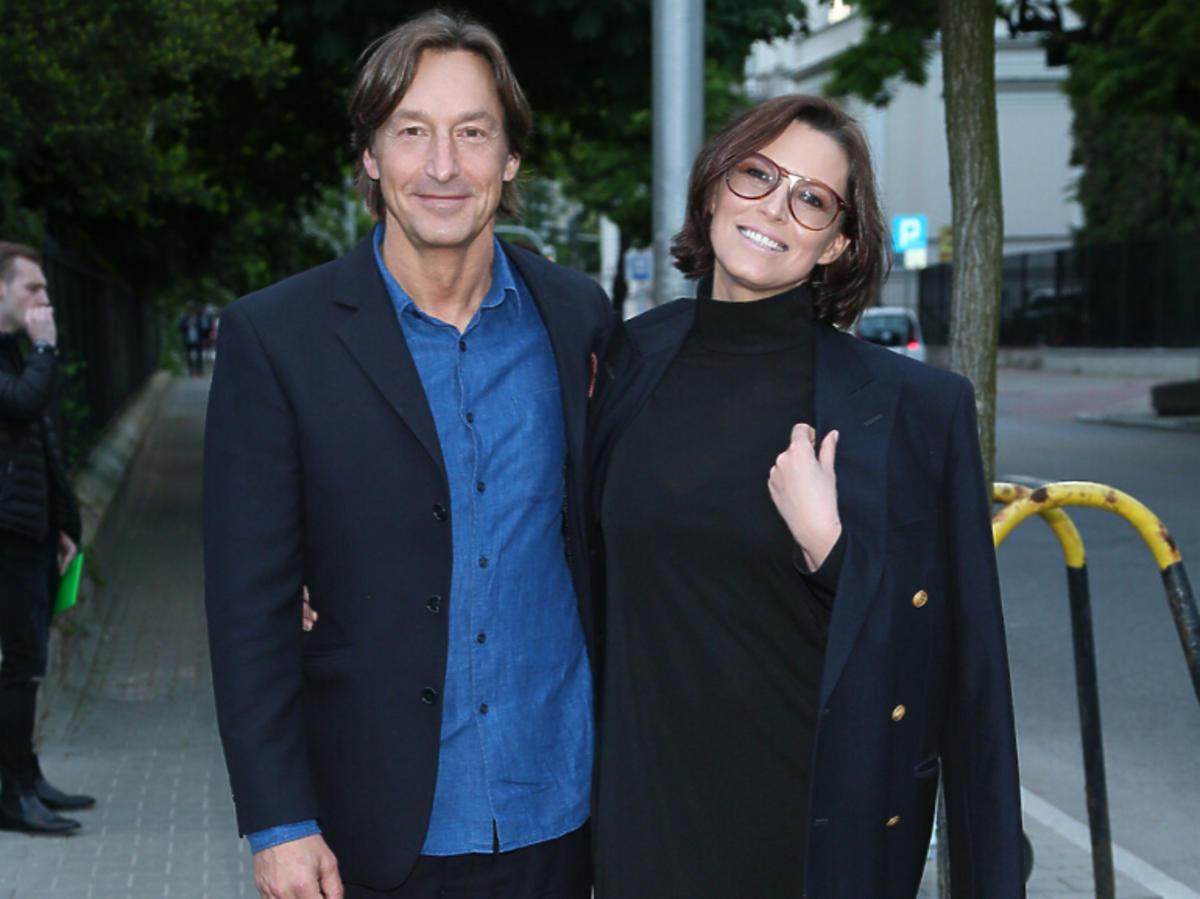 Ilona Felicjańska z mężem