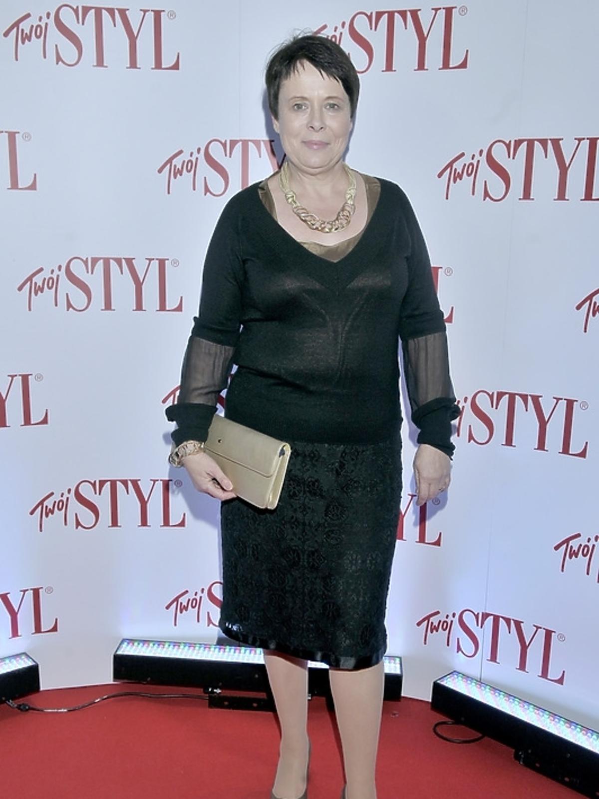 Ilona Łepkowska na gali Doskonałość Roku Twojego Stylu 2012