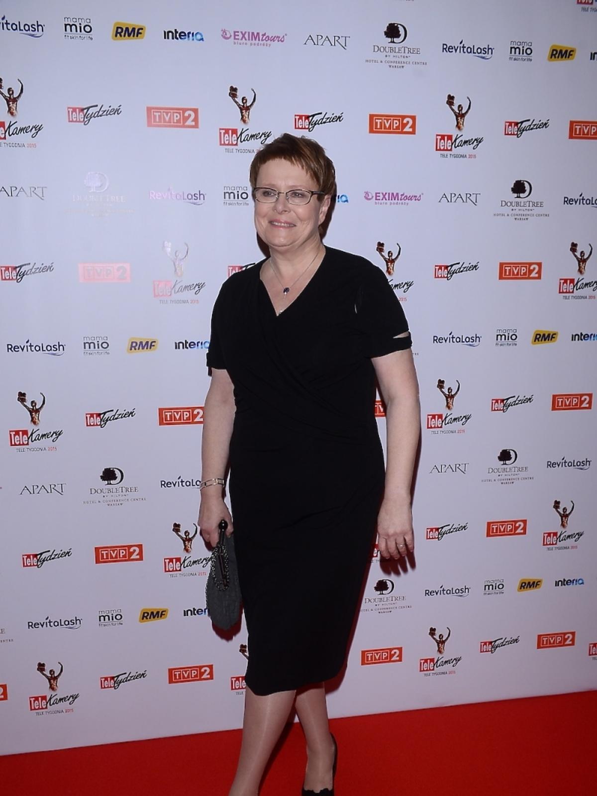 Ilona Łepkowska na gali TeleKamery 2015