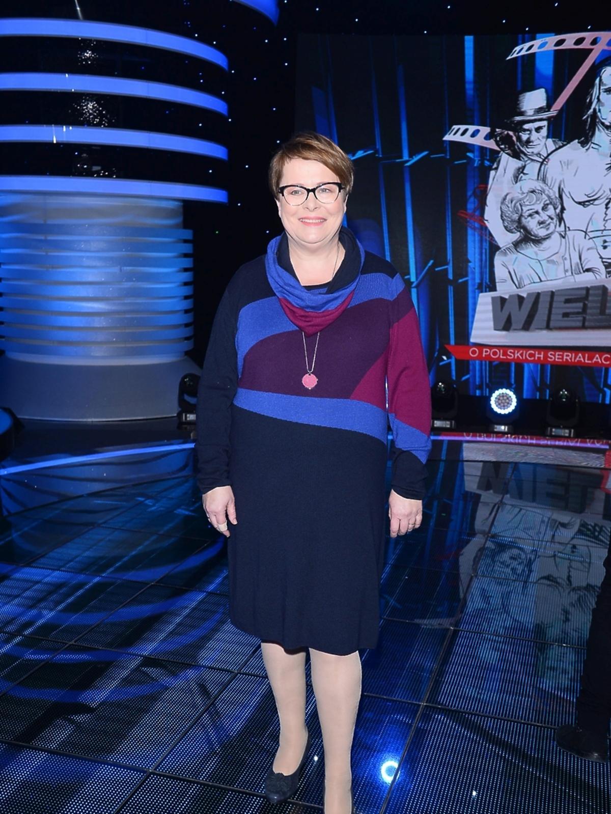 Ilona Łepkowska na Wielkim Teście TVP o serialach