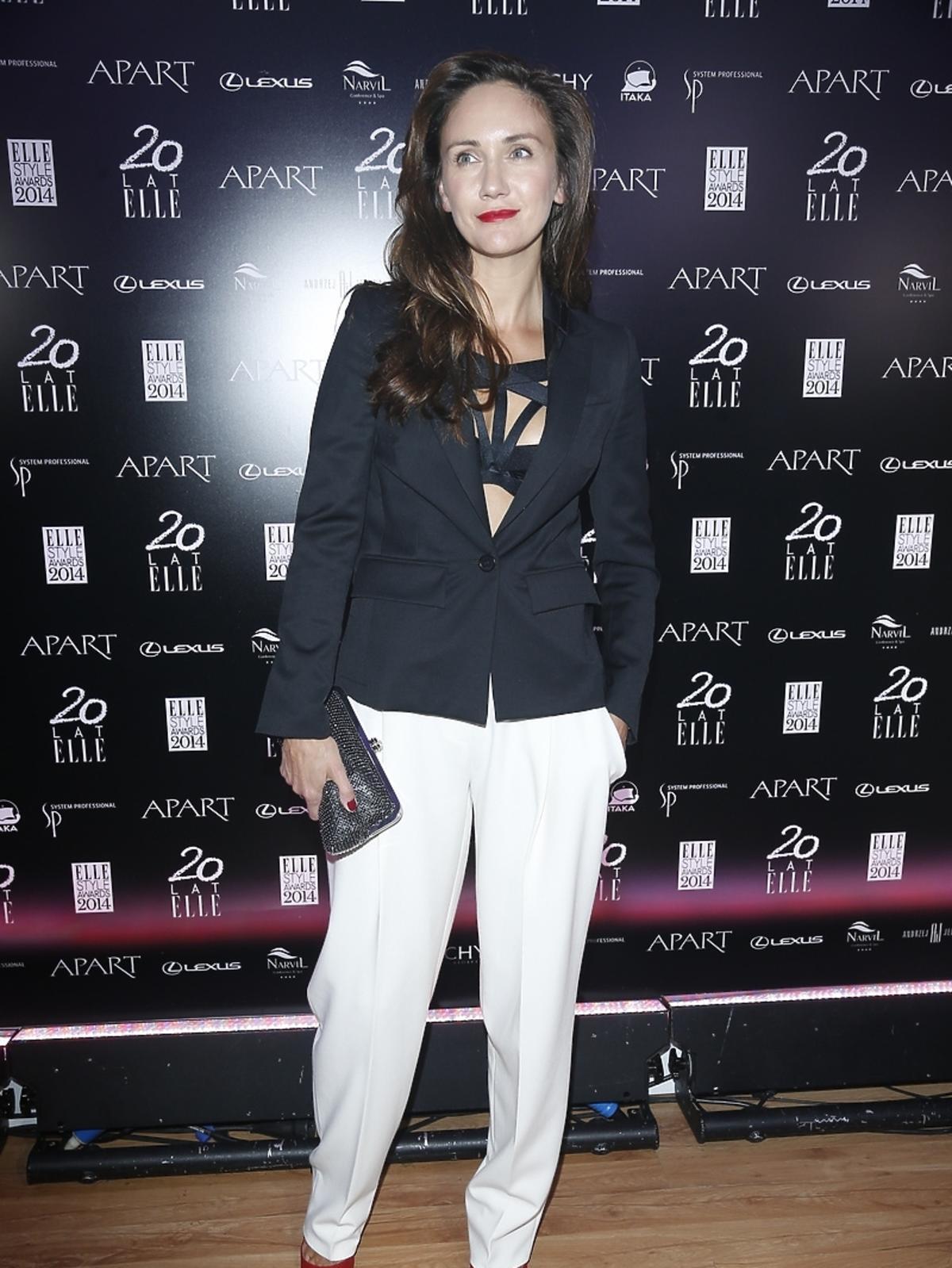 Ilona Ostrowska na Elle Style Awards 2014